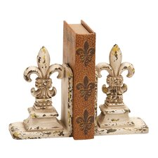 Library Polystone Bookend (Set of 2)
