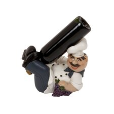 Polystone Chef 1 Bottle Tabletop Wine Rack