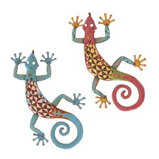 Gecko Assorted Wall Décor (Set of 2)