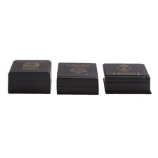 3 Piece Wooden Decorative Box