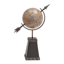 British Styled Metal Globe