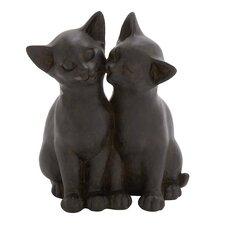 Cuddling Cats Figurine