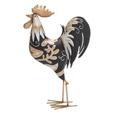 African Styled Rooster Décor Statue