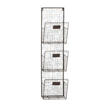 3 Tier Wire Wall Unit Set