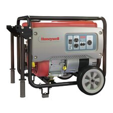 Portable 6,875 Watt Gasoline Generator with Wheel Kit