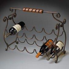 Metalworks 10 Bottle Tabletop Wine Rack