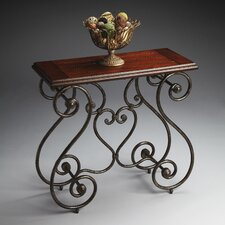 Metalworks Distressed Console Table