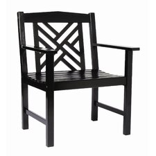 Fretwork Dining Arm Chair