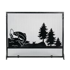 Big Fish Fireplace Screen