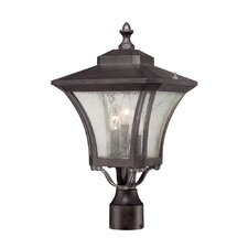 Tuscan 3 Light Outdoor Light Fixture Lantern Head