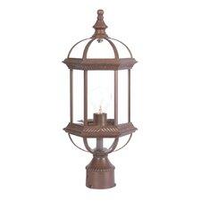 "Dover 1 Light 8"" Outdoor Post Lantern"