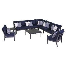 Astoria 9 Piece Deep Seating Group with Cushion