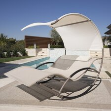 Double Rocking Chaise Lounge