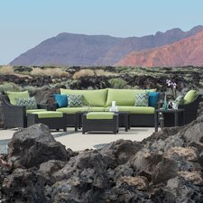 Deco 8 Piece Seating Group with Cushions