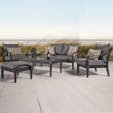 Astoria 6 Piece Deep Seating Group with Cushions