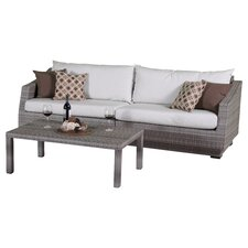 Cannes 3 Piece Seating Group with Cushion