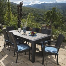 Deco 9 Piece Outdoor Dining Set with Cushions