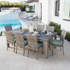 Cannes™  9 Piece Dining Set with Cushions