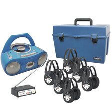 6 Person Wireless Deluxe CD Listening Center