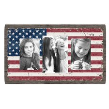 Louisa American Flag Collage Picture Frame