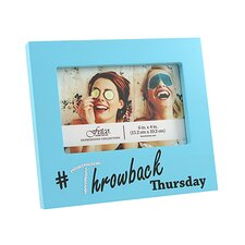 Expressions Wisona Throwback Thursday with Gems Picture Frame