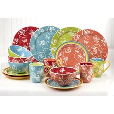 Riverdale 16 Piece Dinnerware Set