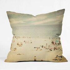Shannon Clark Vintage Beach Throw Pillow