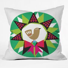 Zoe Wodarz Geo Pop Wreath Throw Pillow
