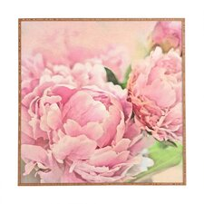 Peonies by Lisa Argyropoulos Framed Wall Art in Pink