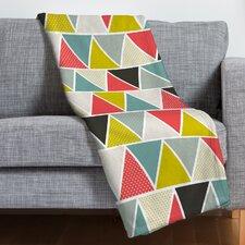Heather Dutton Triangulum Throw Blanket