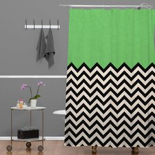 Bianca Green This Way Extra Long Shower Curtain