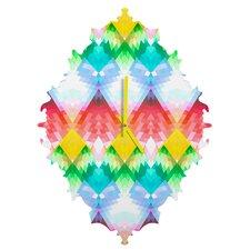 Deniz Ercelebi Crystal Rainbow Wall Clock