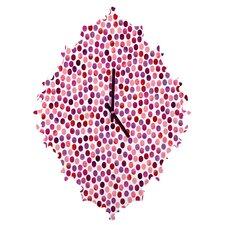 Garima Dhawan Watercolor Dots Wall Clock