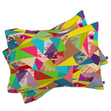 Bianca Green Colorful Thoughts Pillowcase