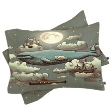 Terry Fan Ocean Meets Sky Pillowcase