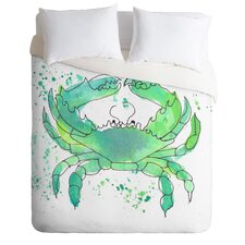 Seafoam Green Crab Duvet Cover Collection