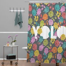 Bianca Green Yolo Shower Curtain
