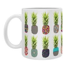 Bianca Green Pineapple Party Coffee Mug
