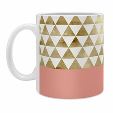 Georgiana Paraschiv Triangles Coffee Mug