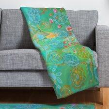 Stephanie Corfee Secret Garden Throw Blanket
