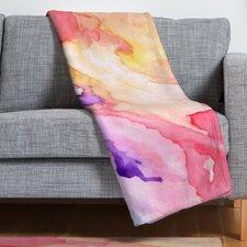 Rosie Brown Color My World Throw Blanket