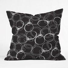Rachael Taylor Circles Throw Pillow