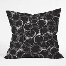 Rachael Taylor Circles Polyester Throw Pillow