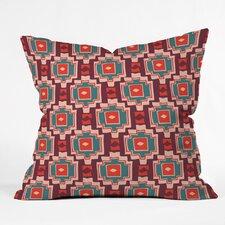 Zoe Wodarz Sunbaked Southwest Polyester Throw Pillow