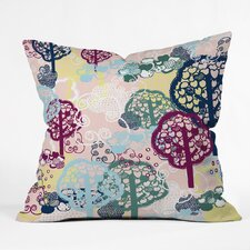 Rachael Taylor Bright Trees Polyester Throw Pillow