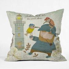 Sabine Reinhart Smitti Was A Pirate Polyester Throw Pillow