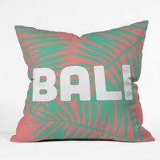 Zoe Wodarz Bali Life Polyester Throw Pillow