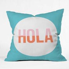 Zoe Wodarz Hola Hola Polyester Throw Pillow
