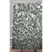 Lisa Argyropoulos Steely Shower Curtain