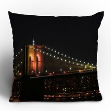 Leonidas Oxby Brooklyn Bridge 2 Throw Pillow